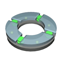 Gielle Thrust bearing transparency